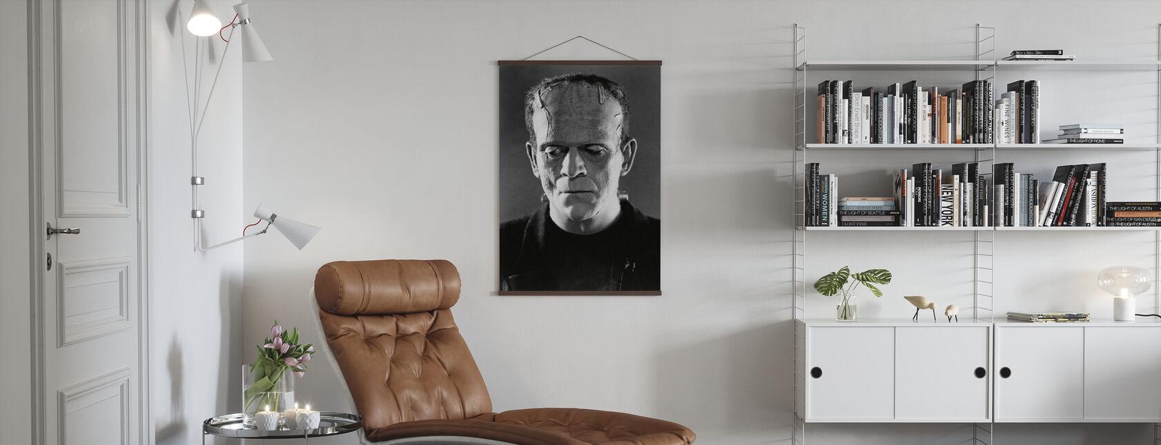 Boris Karloff i Frankensteins brud - Poster - Vardagsrum