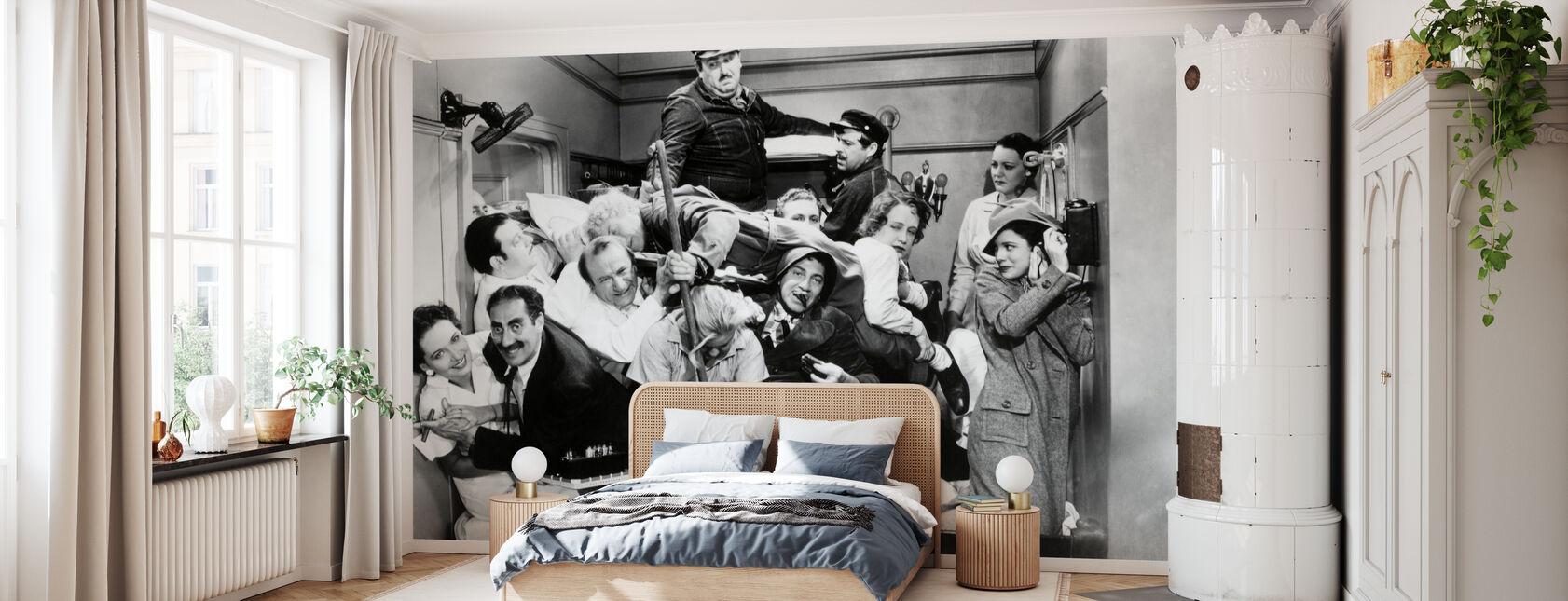 Hermanos Marx - Papel pintado - Dormitorio