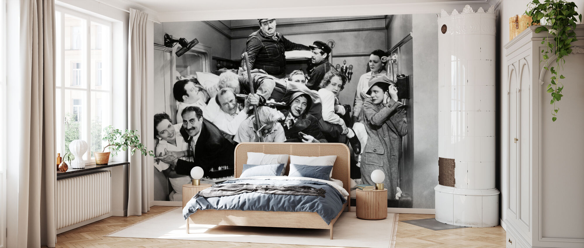 Marx Brothers - Wallpaper - Bedroom