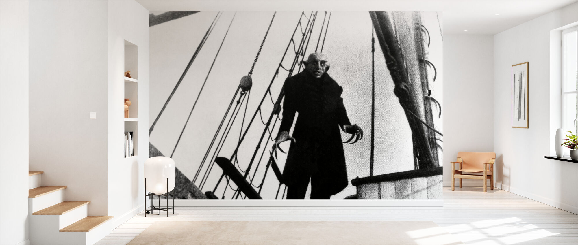 Max Schreck i Nosferatu vampyren - Tapet - Gang