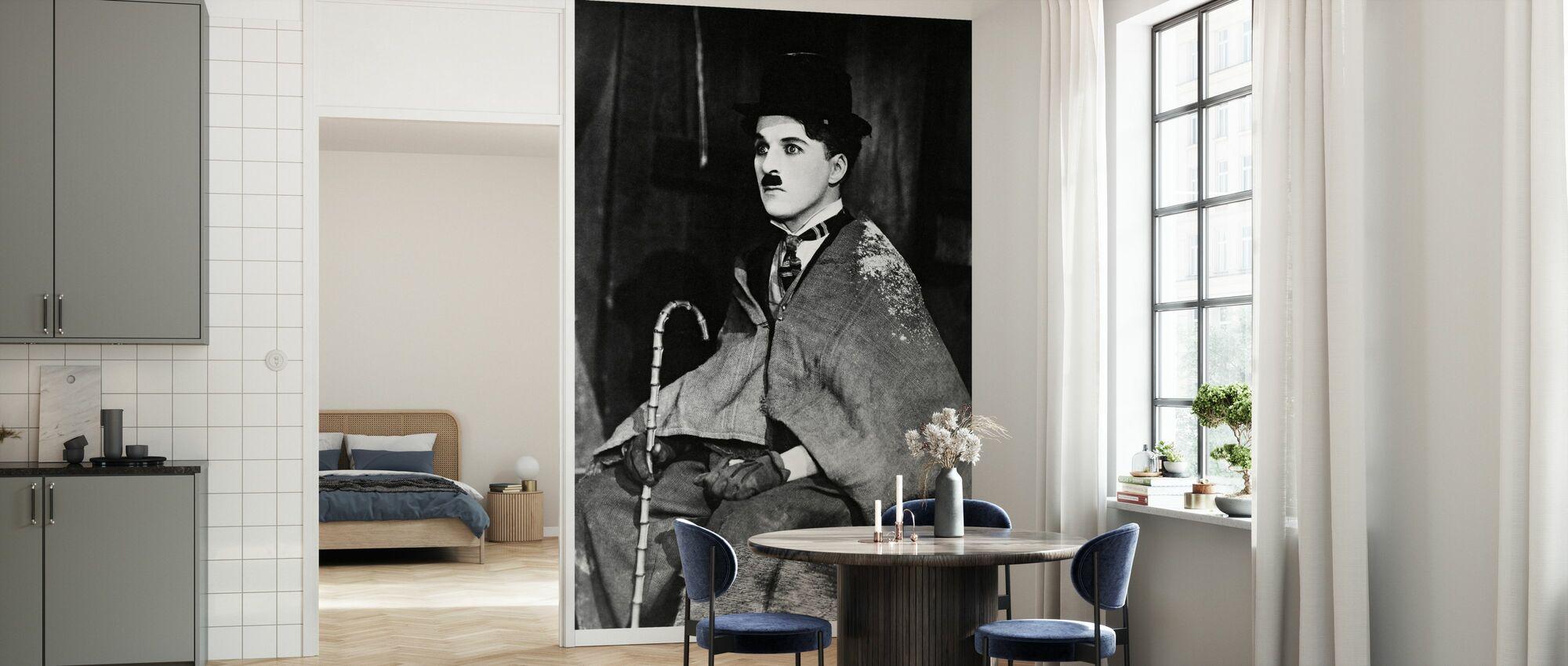 Charlie Chaplin i guldrushen - Tapet - Kök