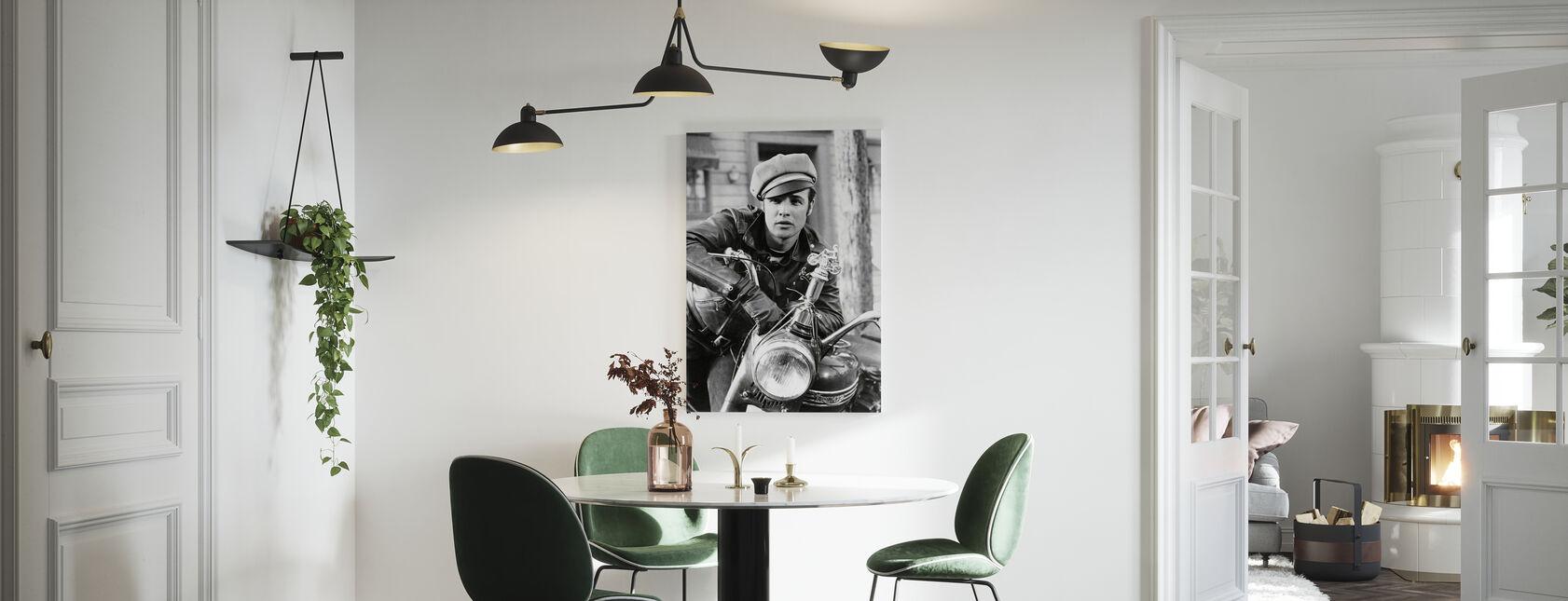 Marlon Brando w dzikim - Obraz na płótnie - Kuchnia