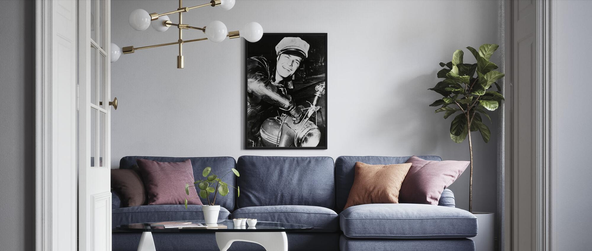 Marlon Brando - Poster - Vardagsrum