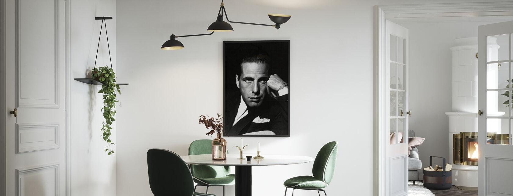 Humphrey Bogart - Gerahmtes bild - Küchen