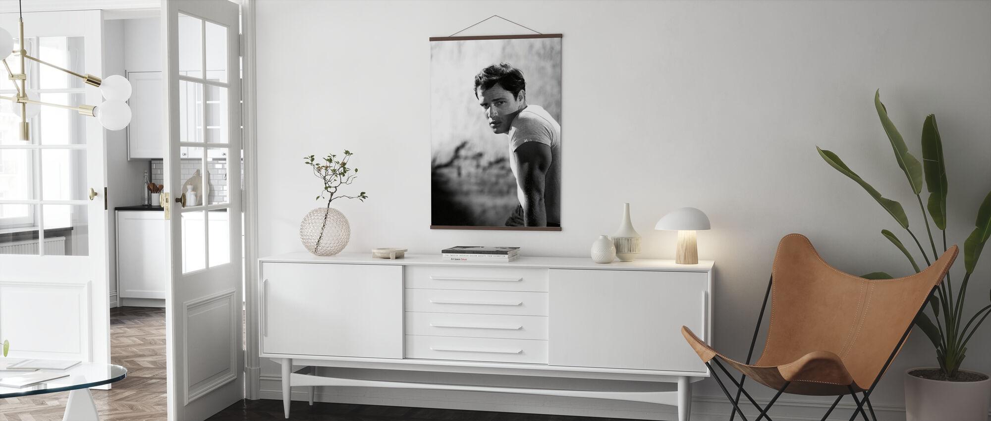 Marlon Brando in a Streetcar Named Desire - Poster - Living Room