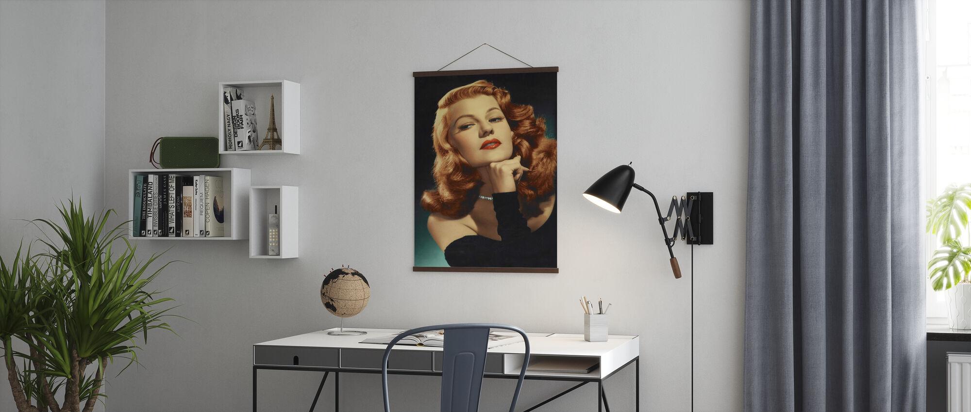 Rita Hayworth in Gilda - Poster - Kantoor