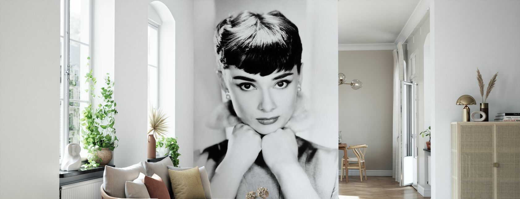 Audrey Hepburn - Papier peint - Salle à manger