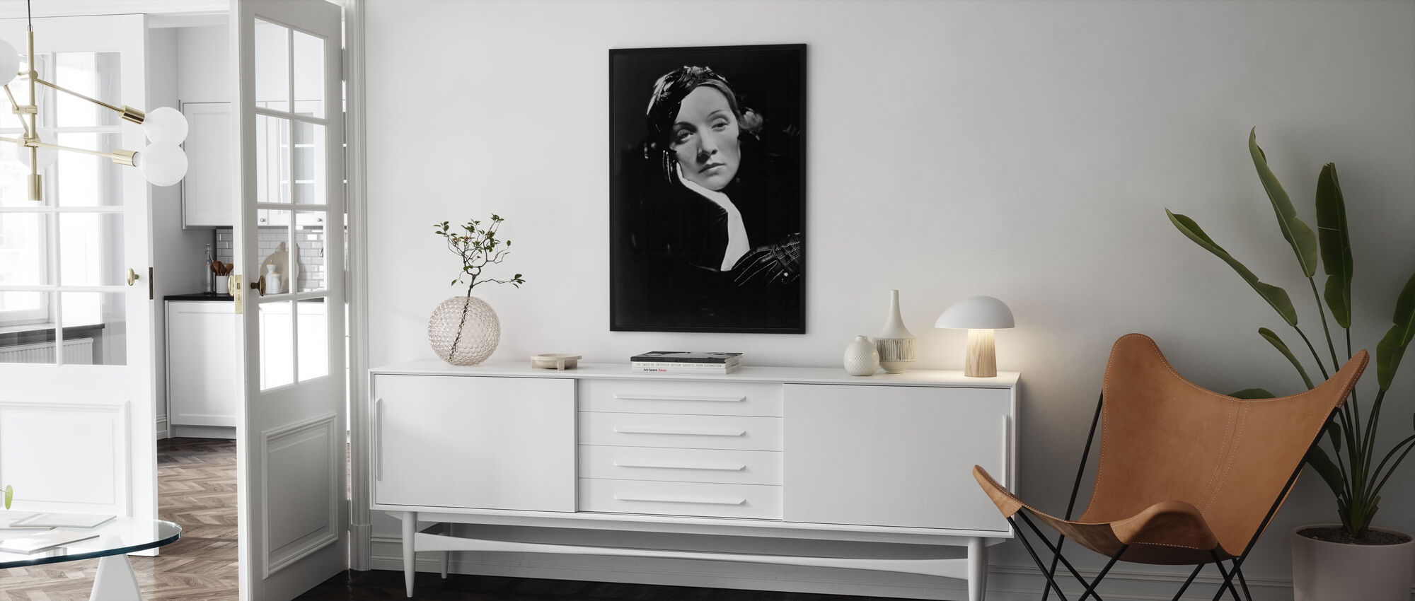 Marlene Dietrich i Shanghai Express - Plakat - Stue