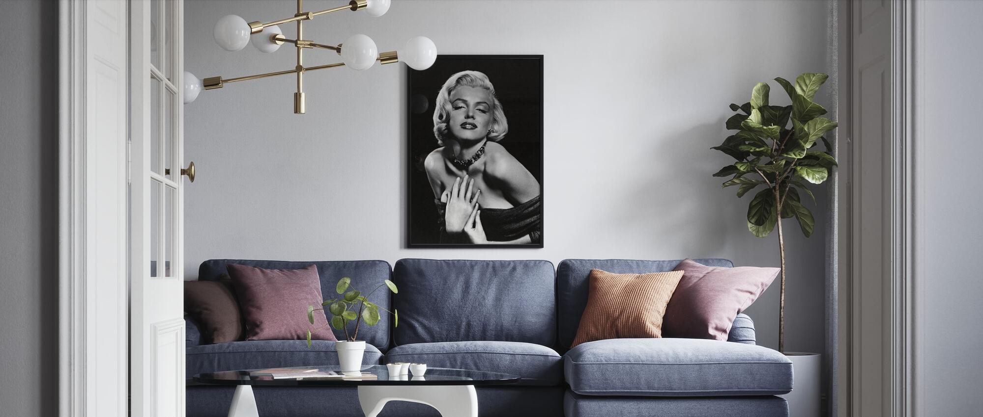 Marilyn Monroe i hur man gifter sig med en miljonär - Poster - Vardagsrum