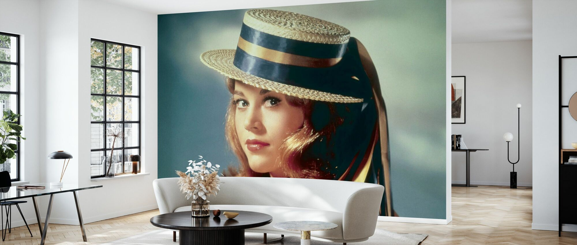 Jane Fonda - Wallpaper - Living Room