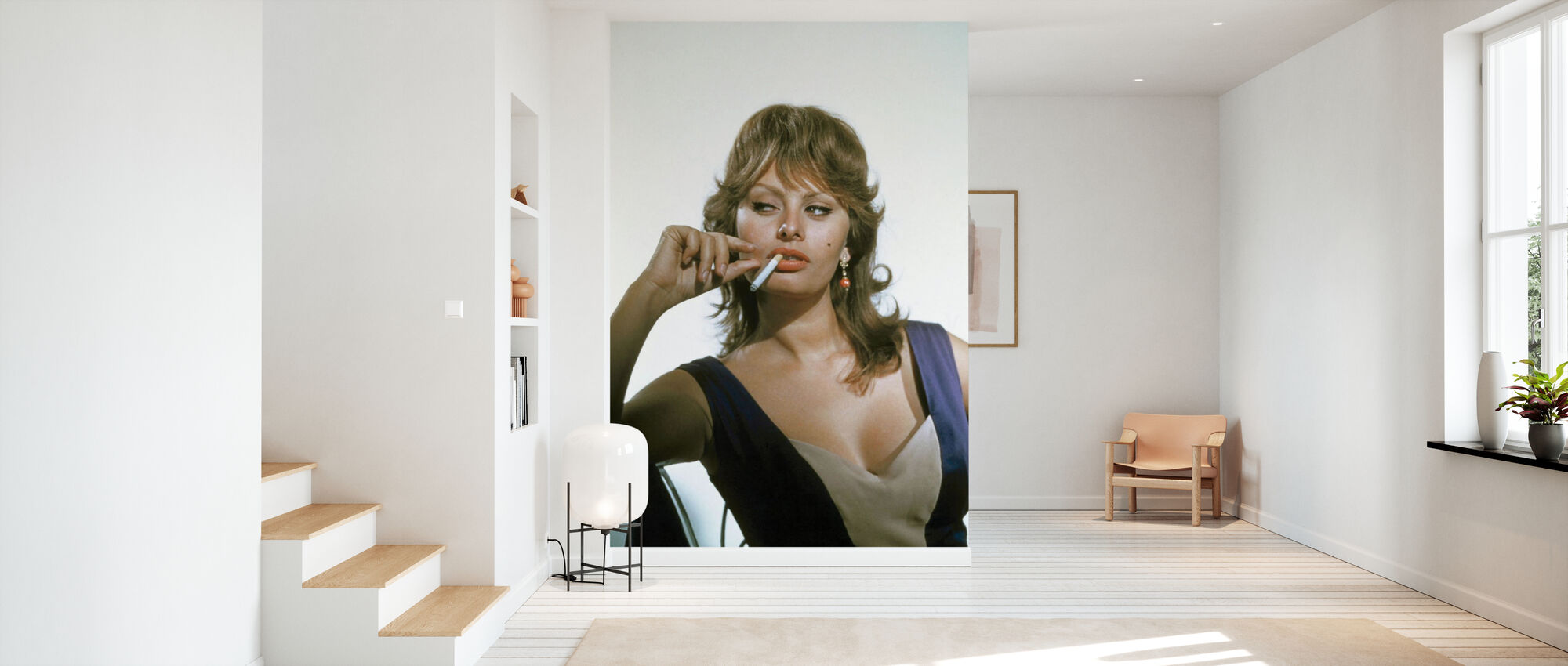 Sophia Loren - Tapete - Flur
