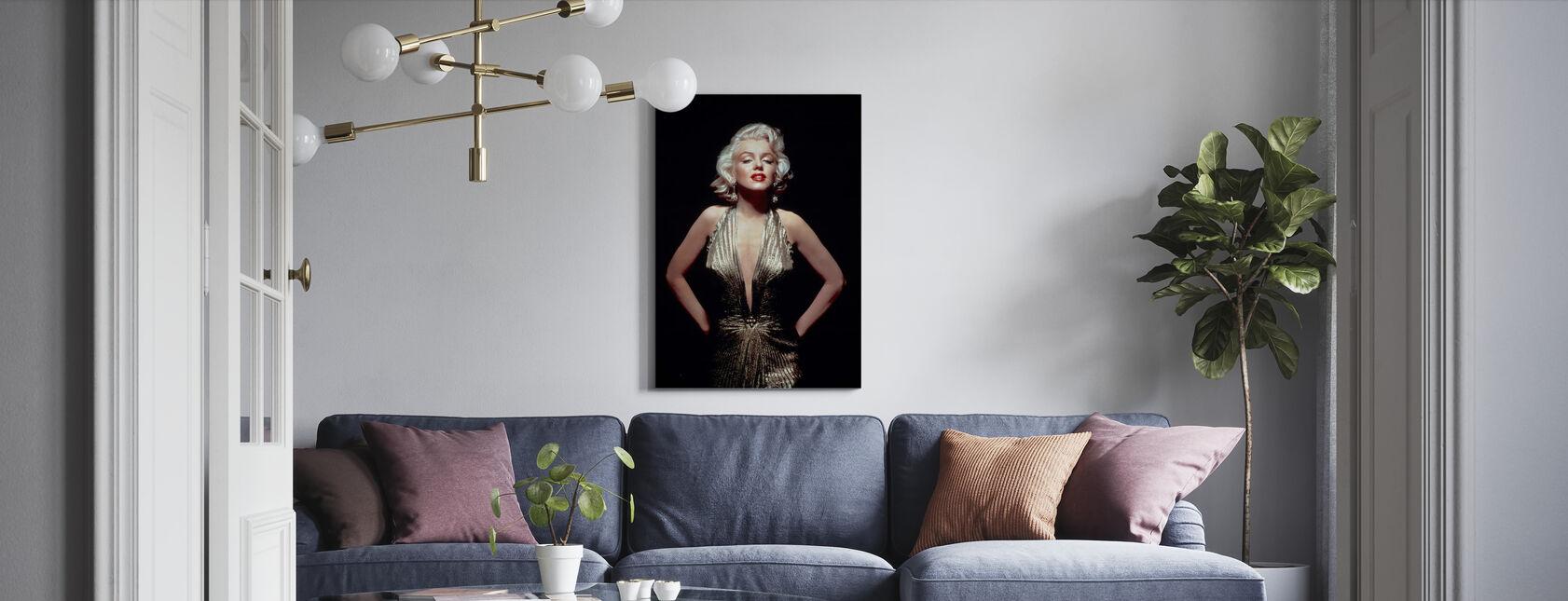 Marilyn Monroe in Gentlemen Preferisco Bionde - Stampa su tela - Salotto