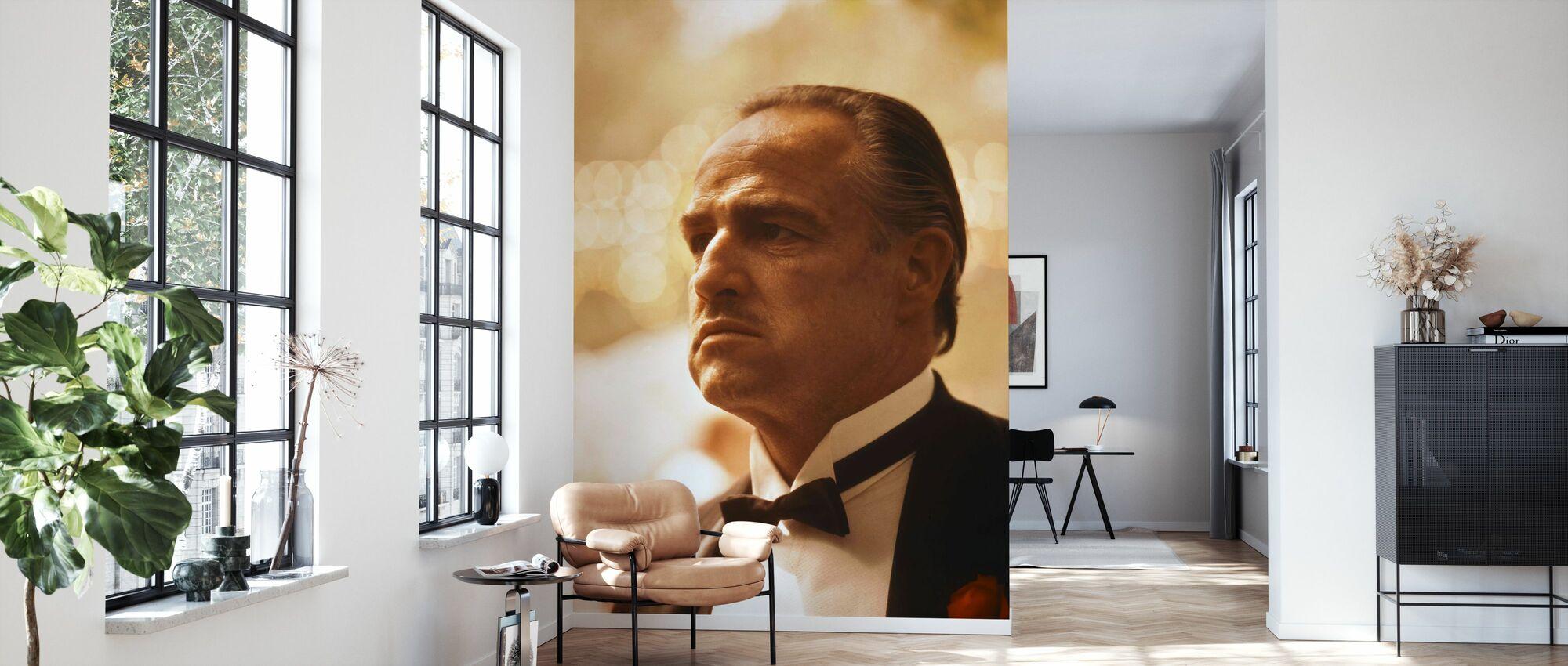 Marlon Brando Kummisetä - Tapetti - Olohuone