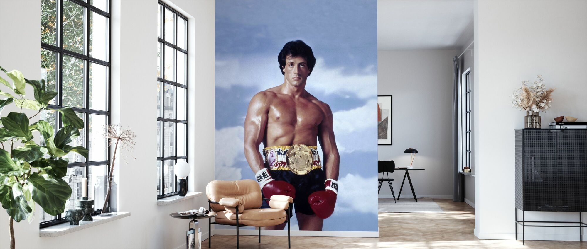 Sylvester Stallone in Rocky III - Wallpaper - Living Room