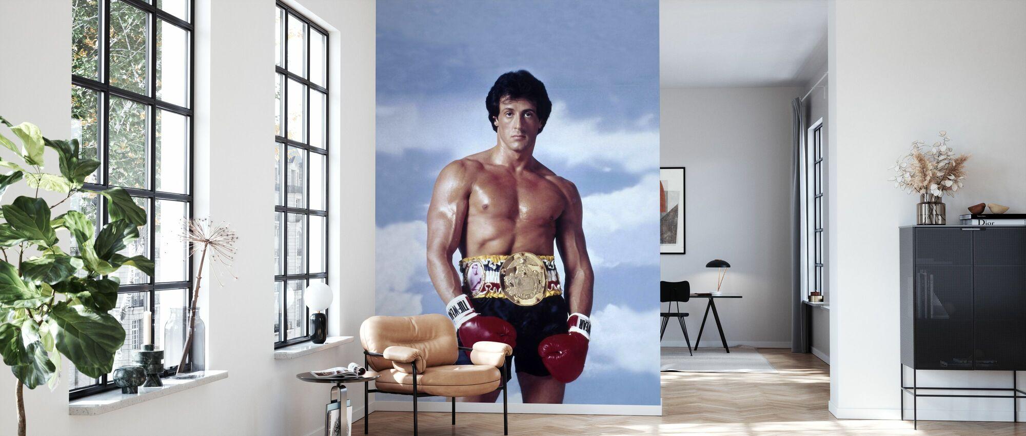 Sylvester Stallone en Rocky III - Tapetti - Olohuone