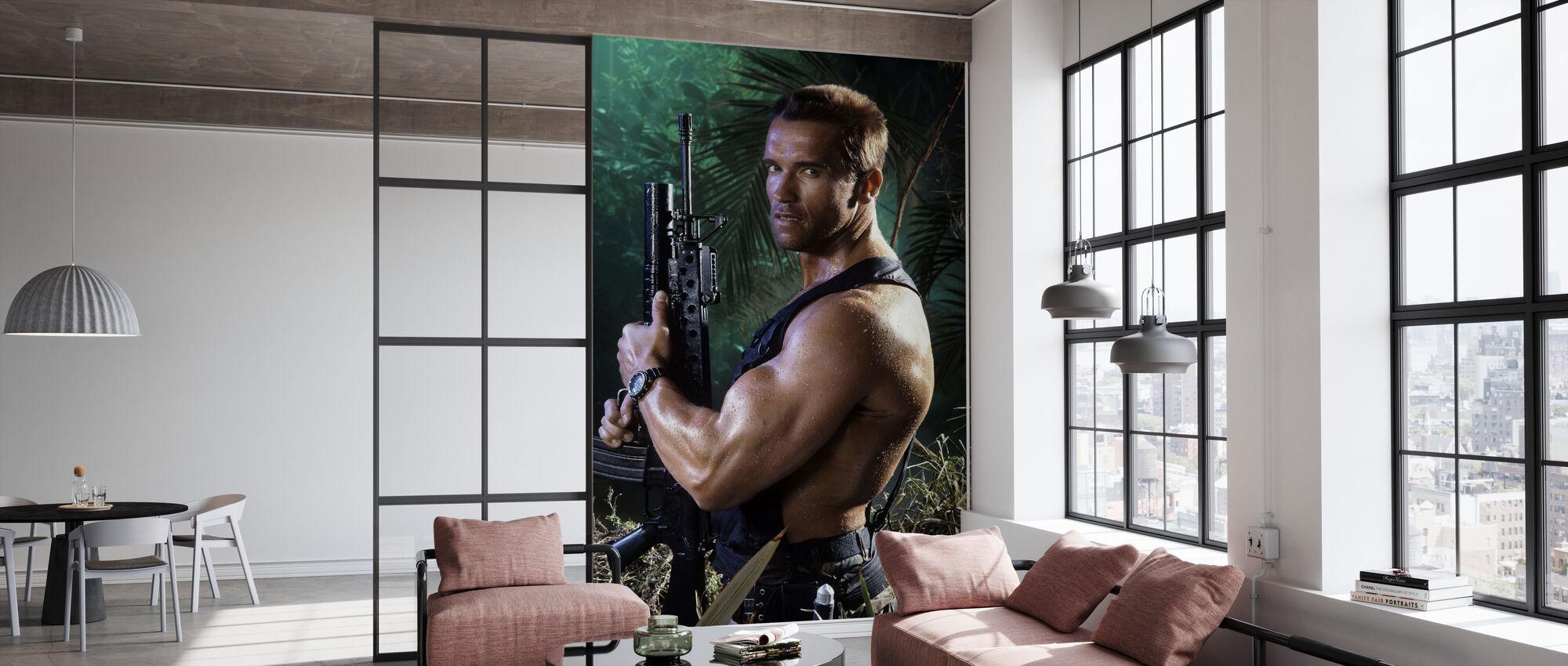 Arnold Schwarzenegger in Predator - Wallpaper - Office