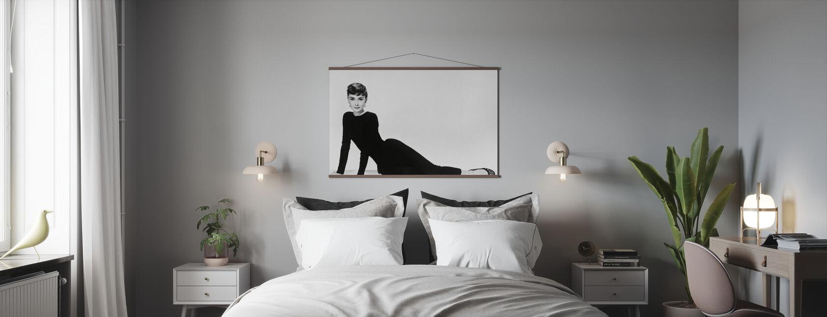 Audrey Hepburn i Sabrina - Plakat - Soveværelse