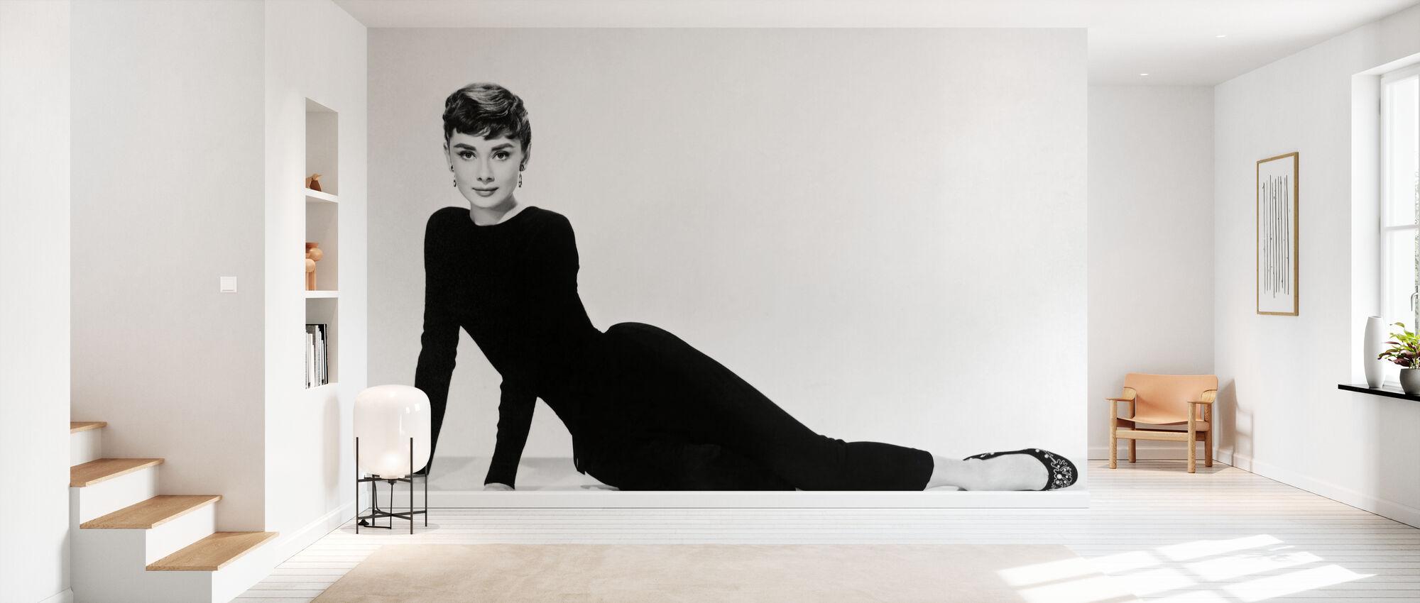 Audrey Hepburn a Sabrina - Carta da parati - Sala