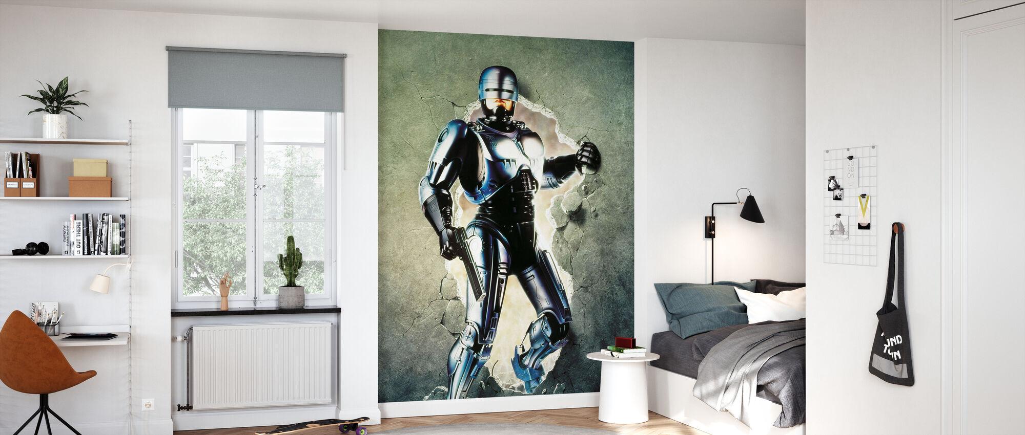 Peter Weller i Robocop 2 - Tapet - Barnrum