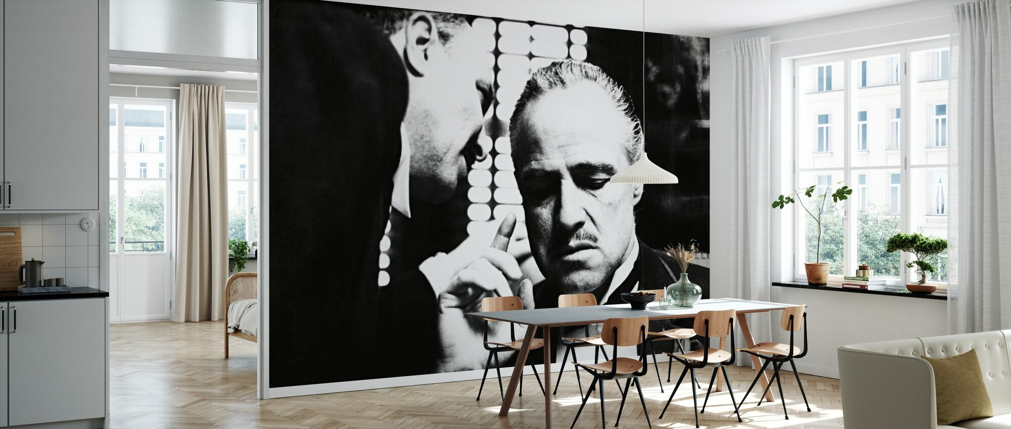 Marlon Brando in the Godfather - Wallpaper - Kitchen