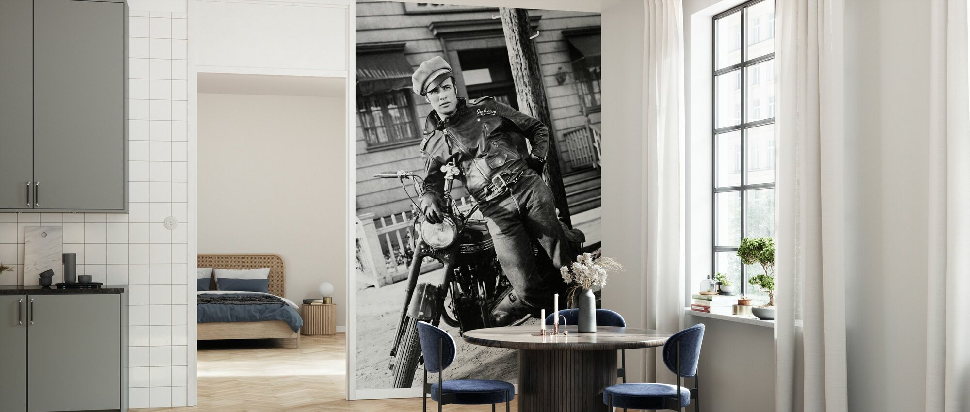 Marlon Brando in the Wild One - Wallpaper - Kitchen