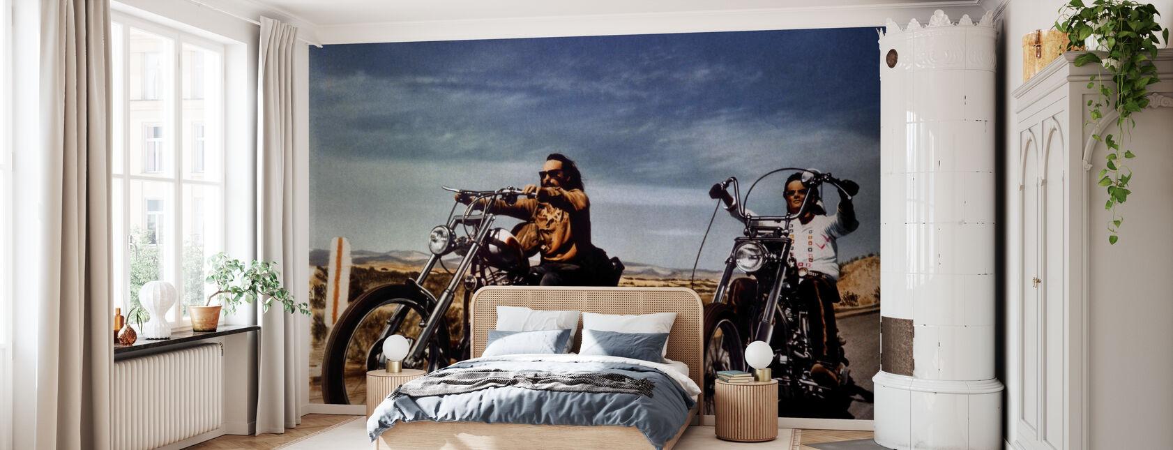 Dennis Hopper i Peter Fonda w łatwy jeździec - Tapeta - Sypialnia