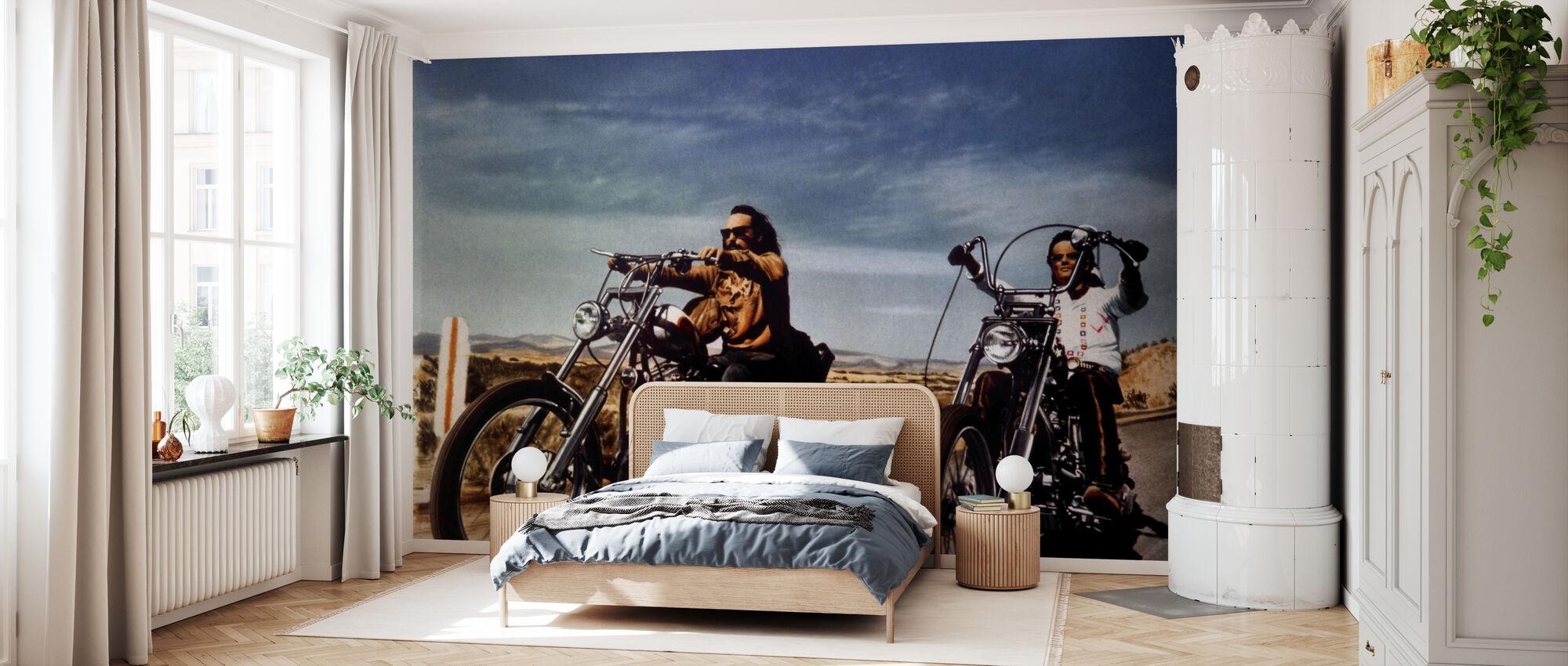 Dennis Hopper og Peter Fonda en Easy Rider - Tapet - Soverom