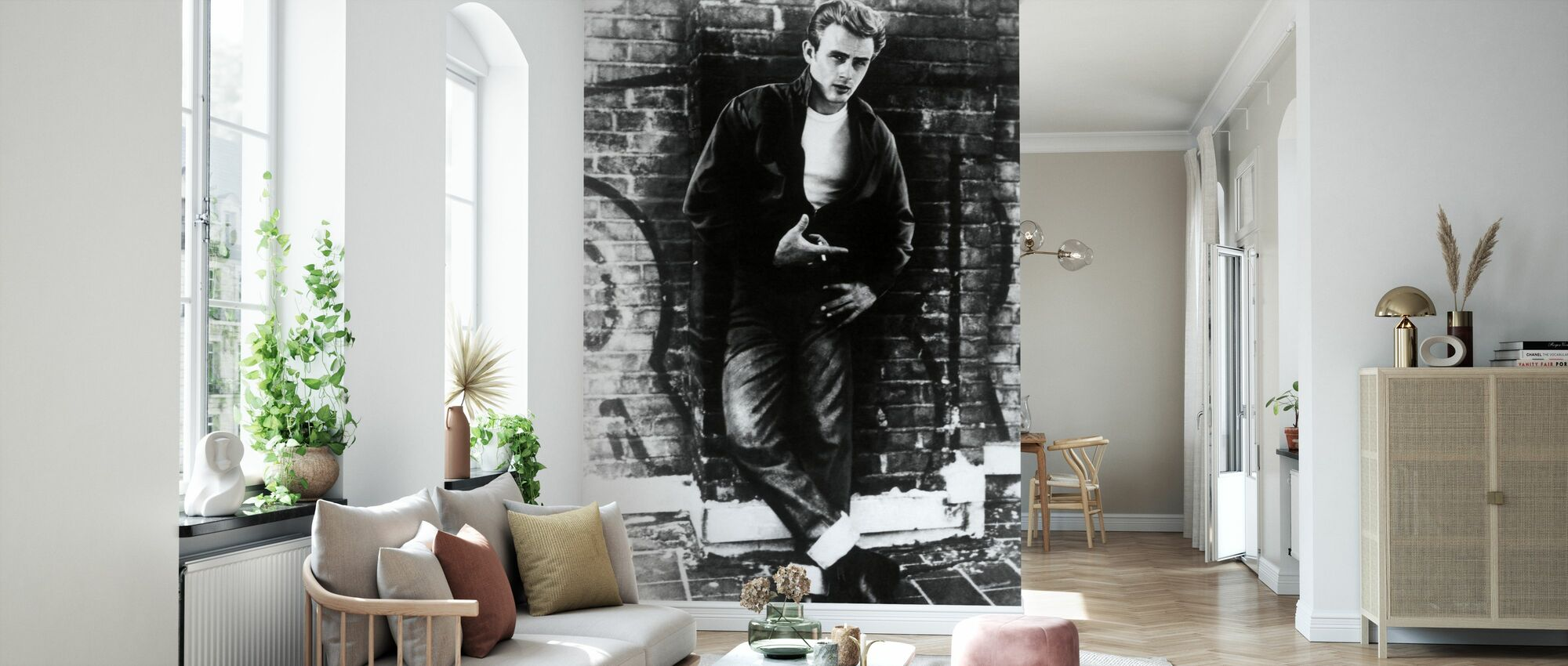James Dean in Rebel Without a Cause - Wallpaper - Living Room