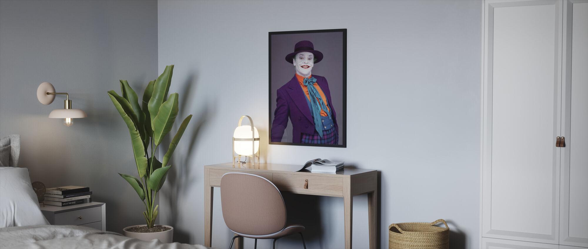 Jack Nicholson in Batman - Poster - Bedroom