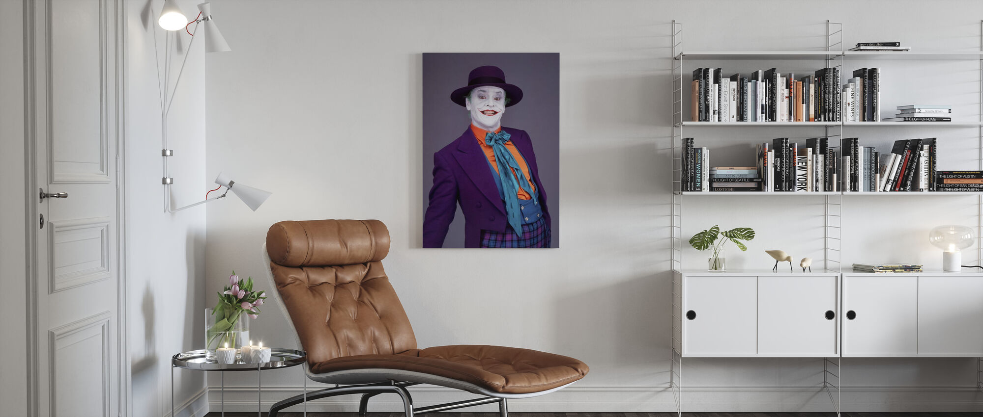 Jack Nicholson in Batman - Canvas print - Woonkamer