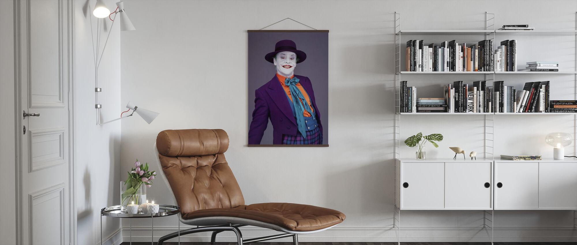 Jack Nicholson in Batman - Poster - Living Room