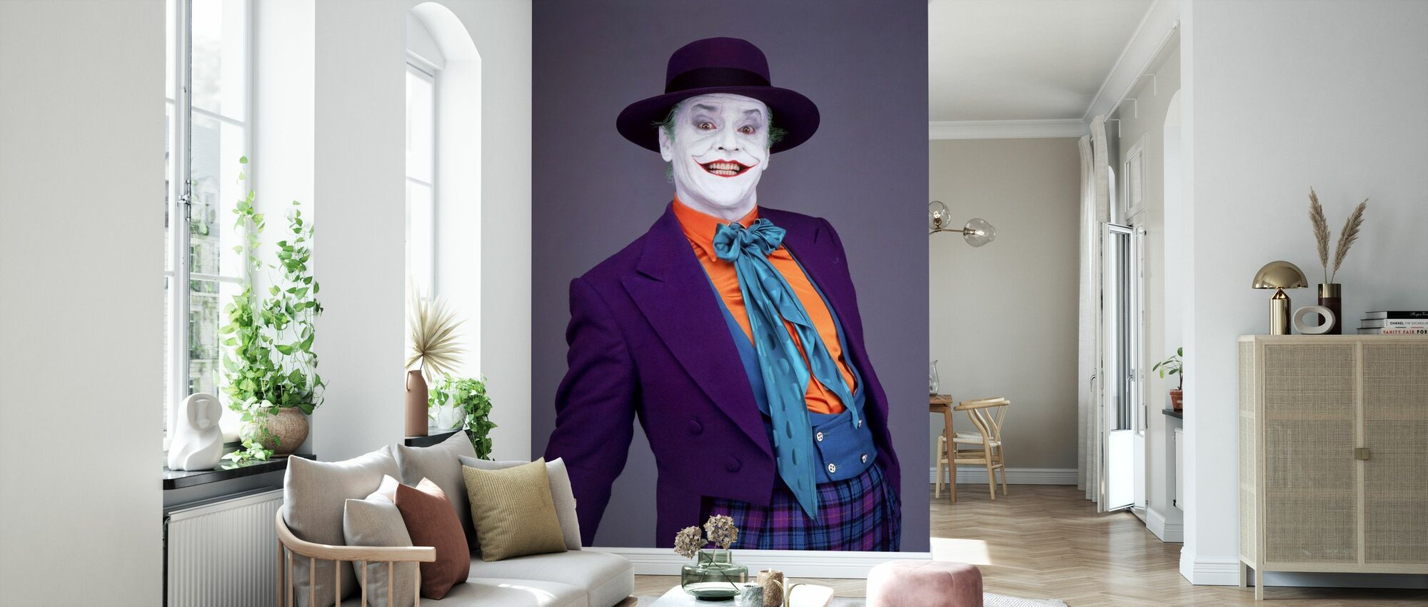 Jack Nicholson in Batman - Wallpaper - Living Room
