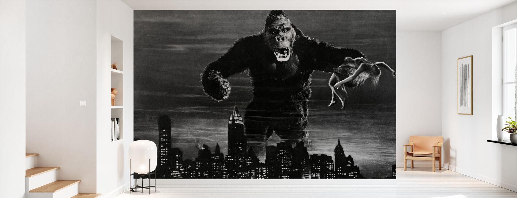 King Kong - Behang - Gang
