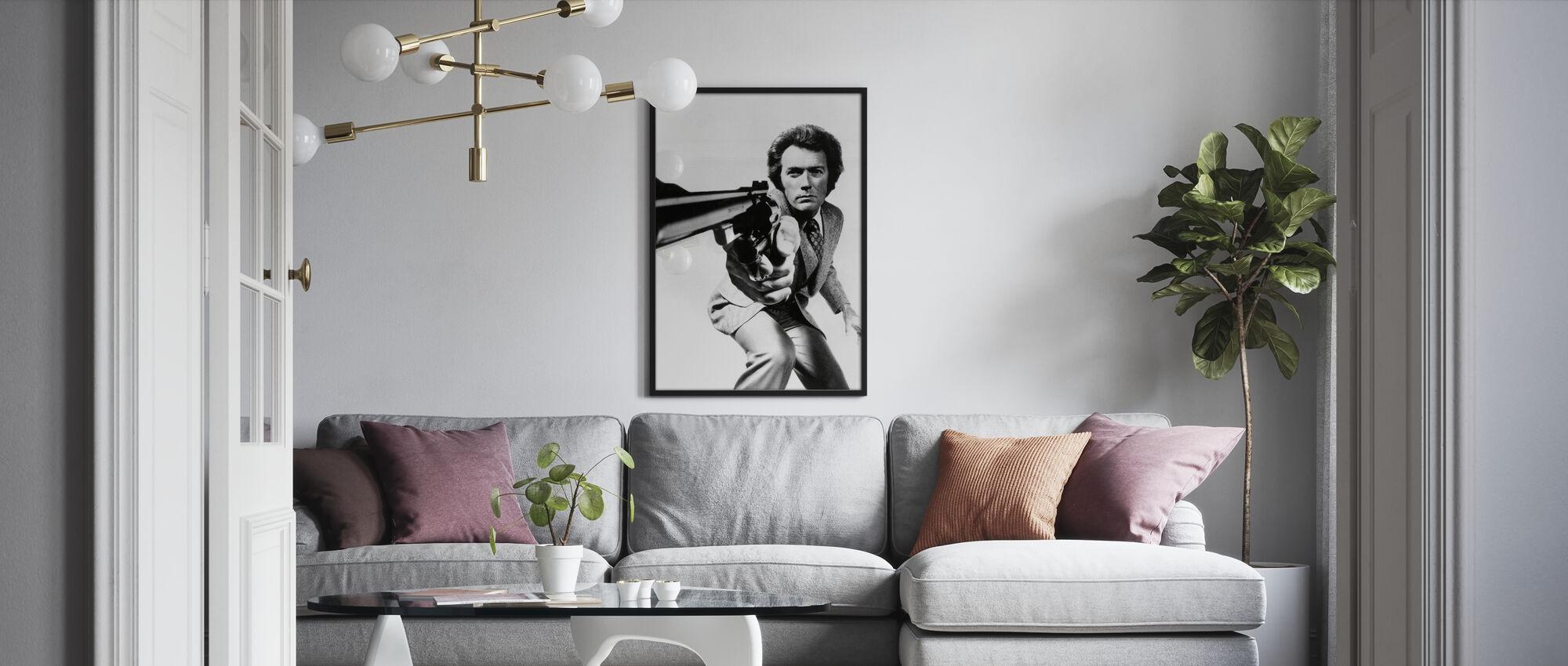 Clint Eastwood i Magnum Force - Plakat - Stue