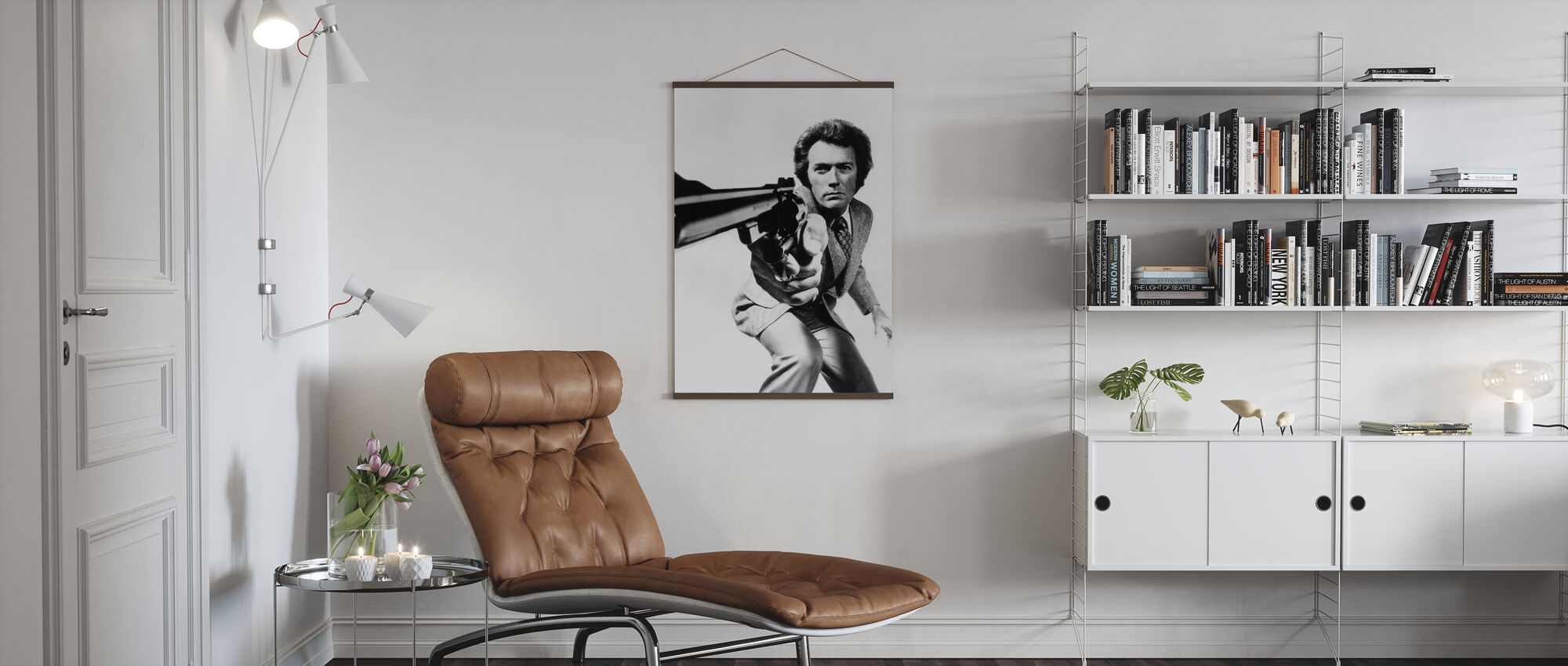 Clint Eastwood in Magnum Force - Poster - Living Room