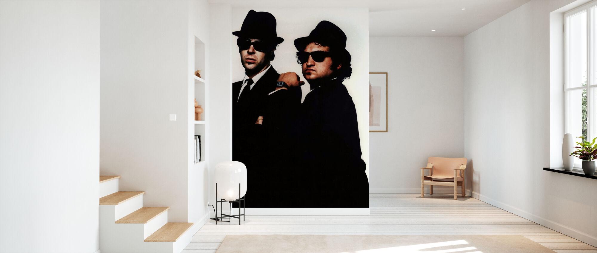 Blues brødre - Tapet - Entré