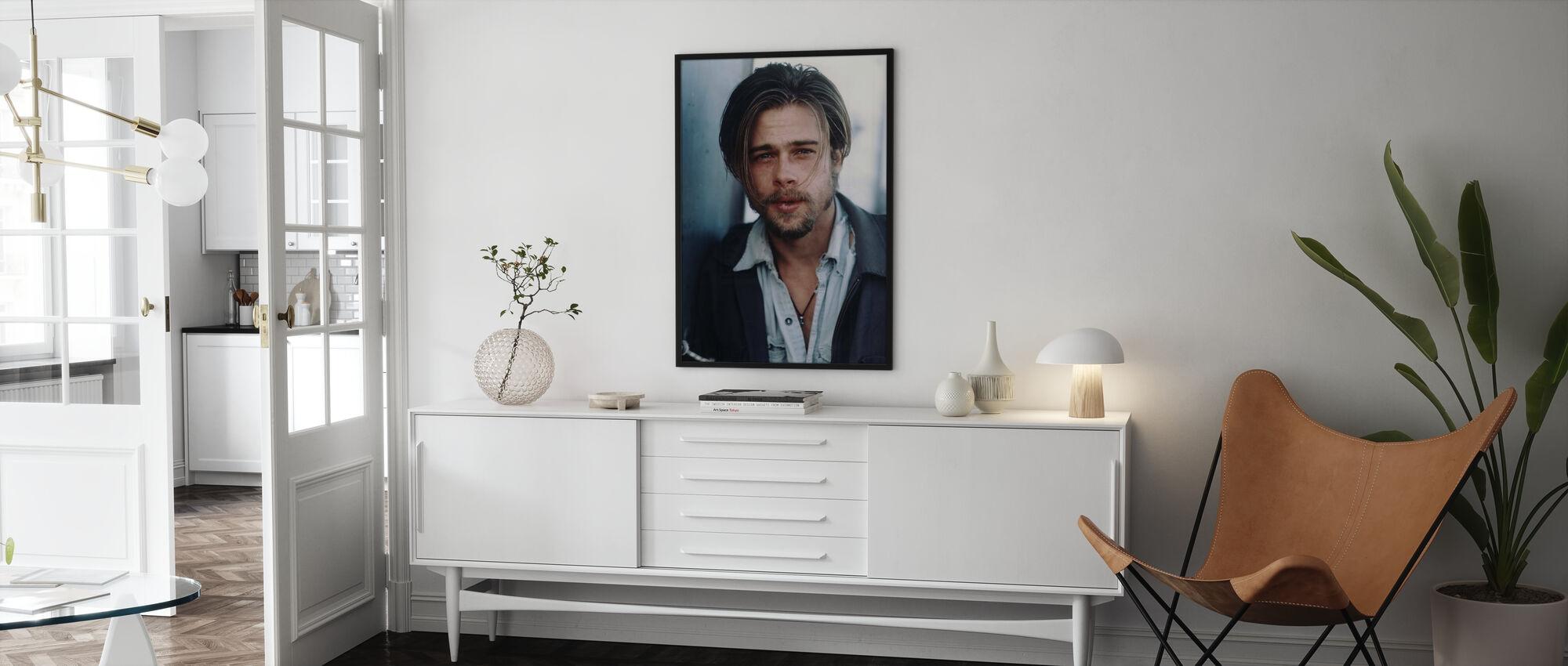 Brad Pitt in California - Poster - Salotto