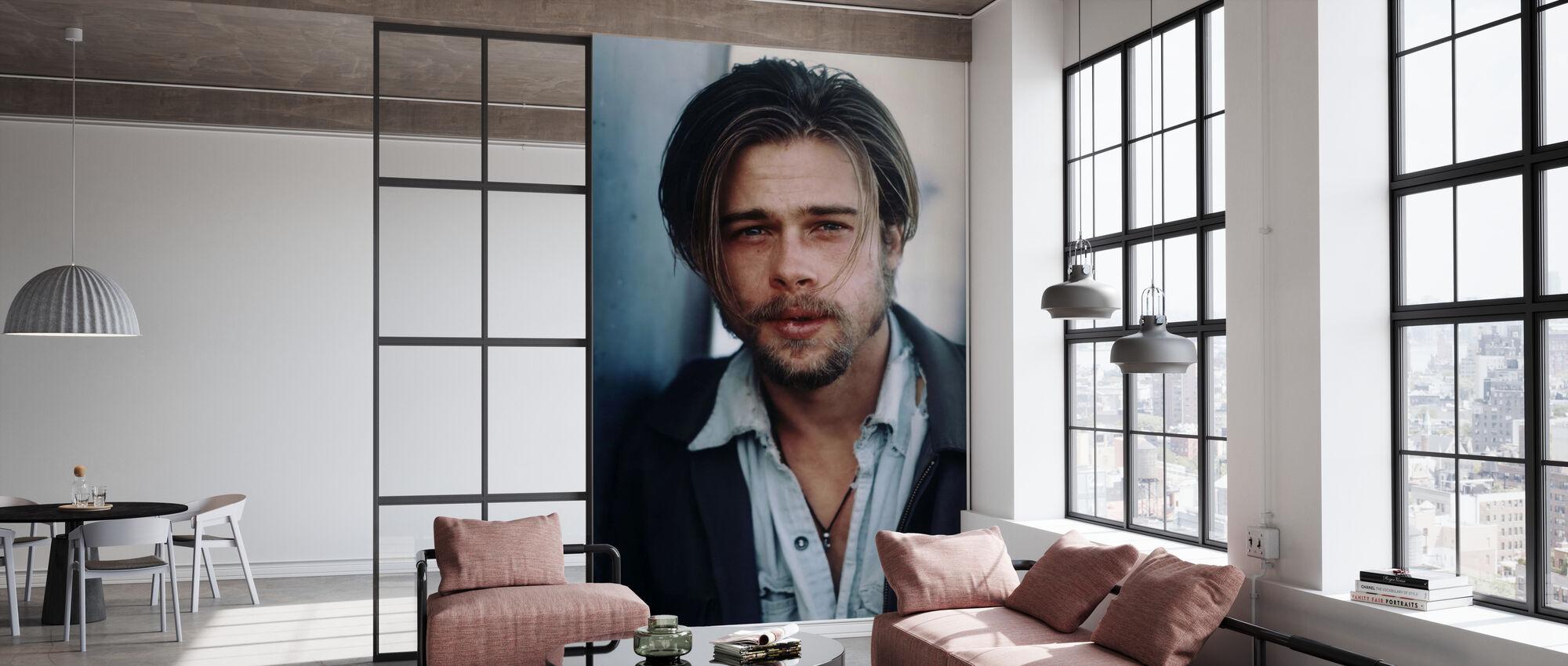 Brad Pitt in Kalifornia - Wallpaper - Office