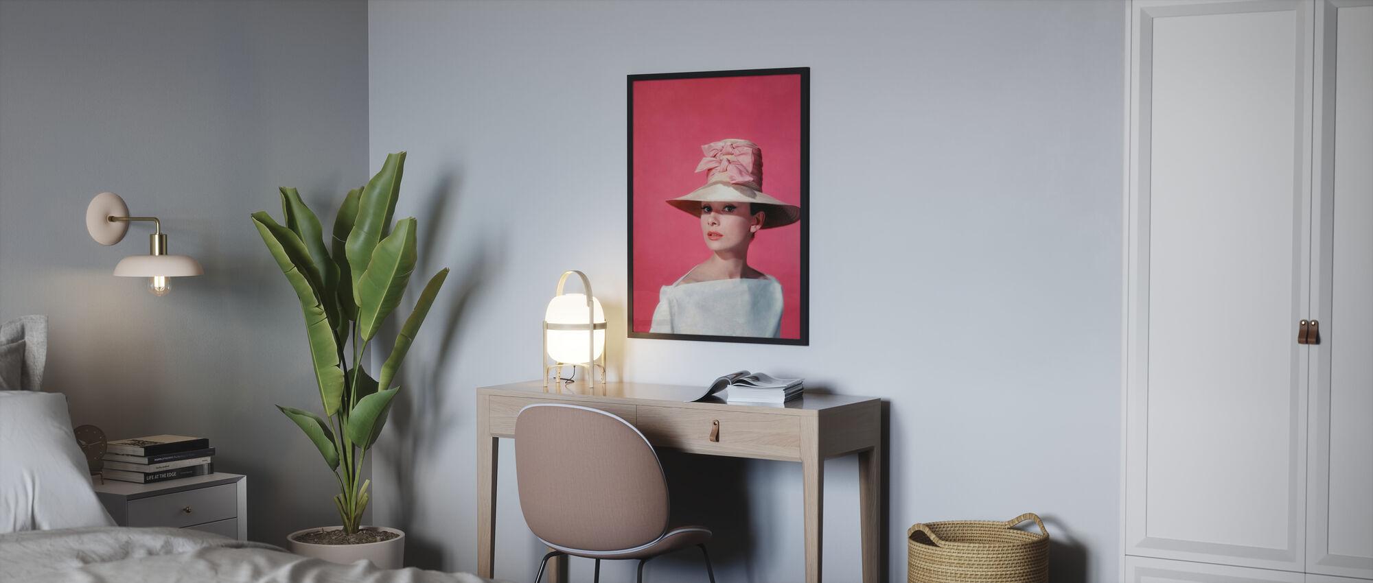 Audrey Hepburn in Funny Face - Poster - Bedroom