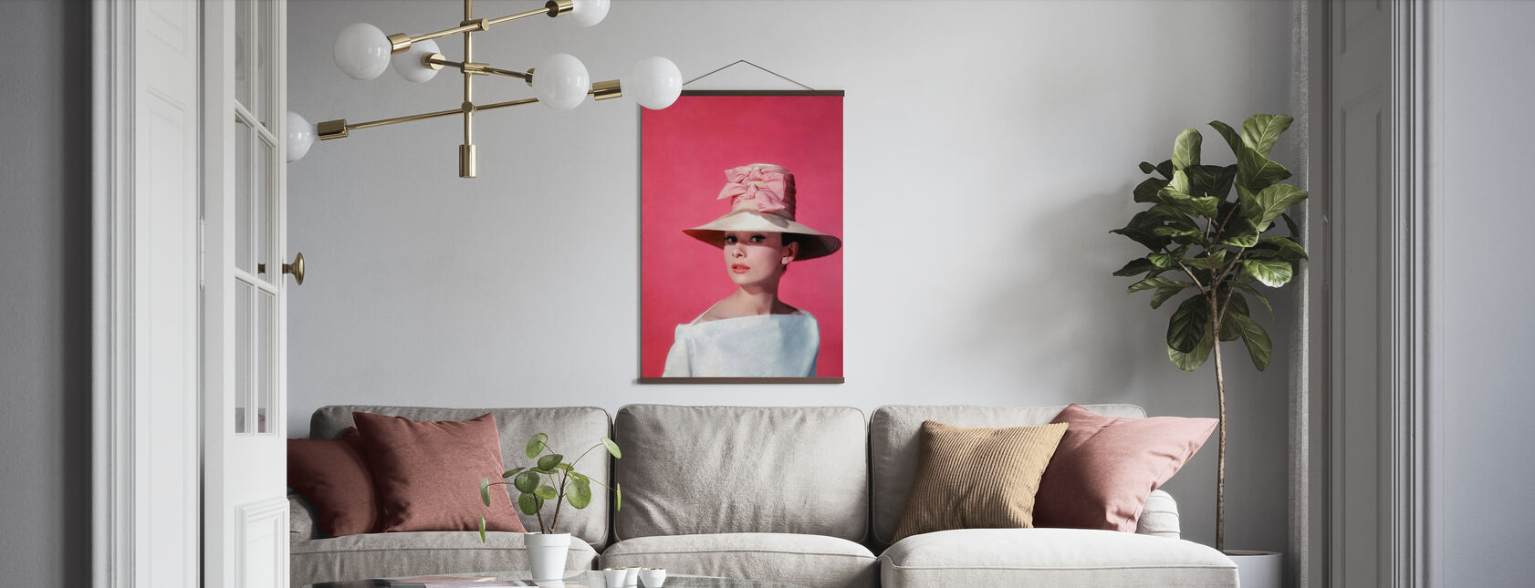 Audrey Hepburn in Funny Face - Poster - Living Room