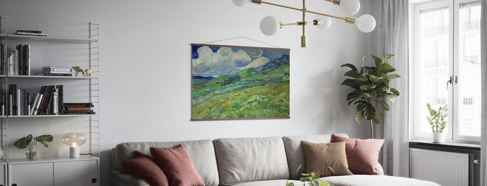 Landskap fra Saintremy - Plakat - Stue