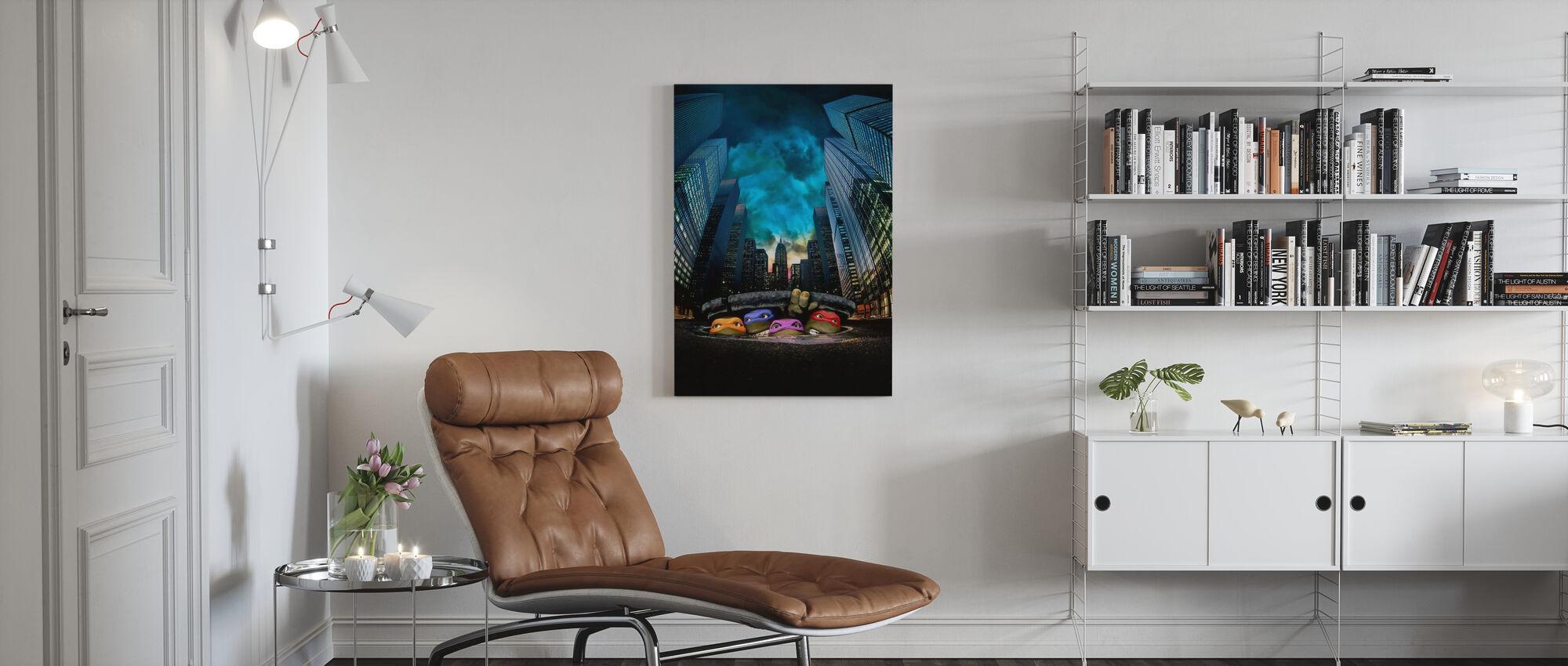 Teenage Mutant Ninja Turtles - Canvas print - Living Room