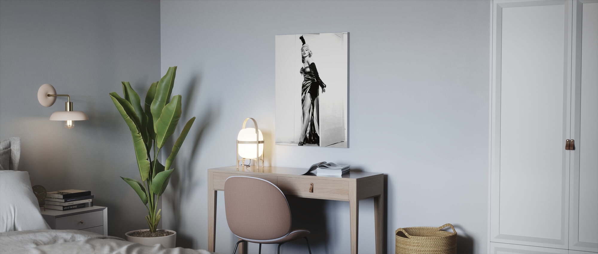 Marilyn Monroe in the Seven Year Itch - Canvas print - Office
