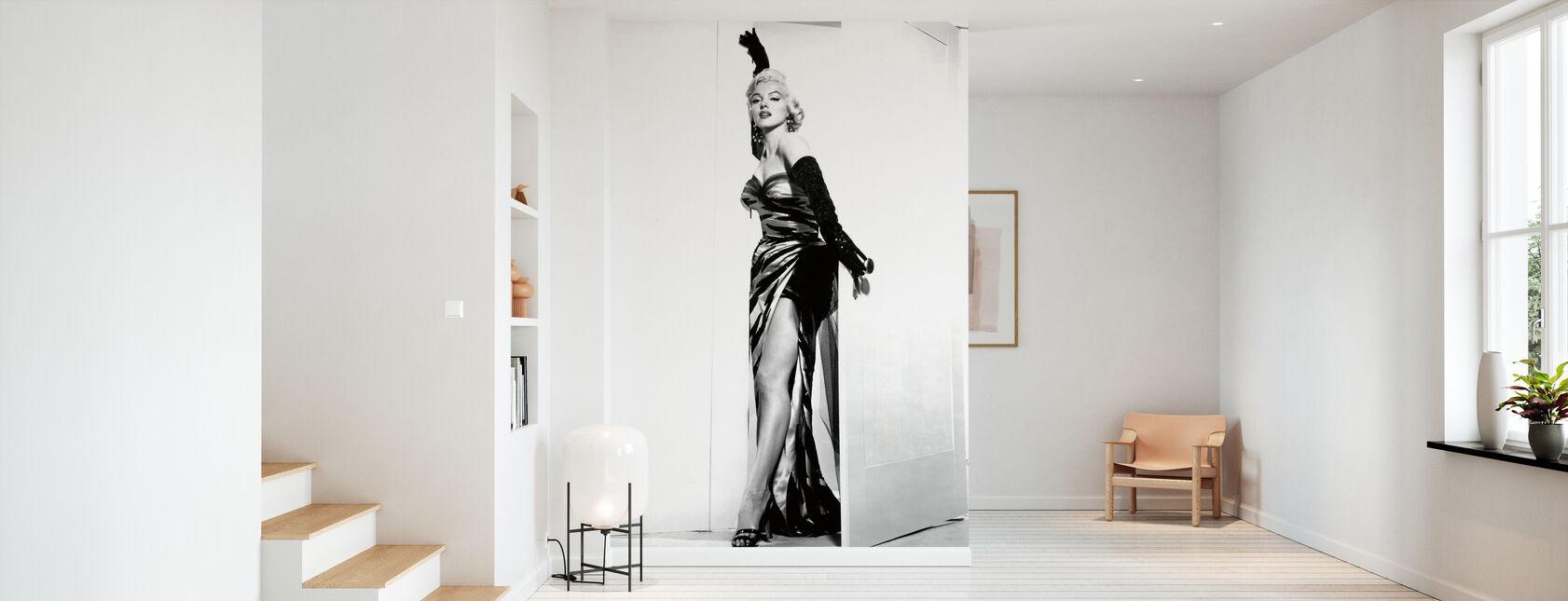 Marilyn Monroe i syvåret Kløe - Tapet - Gang