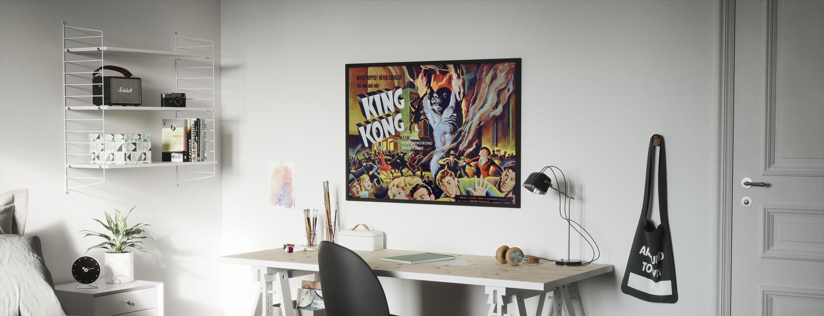 King Kong - Juliste - Lastenhuone