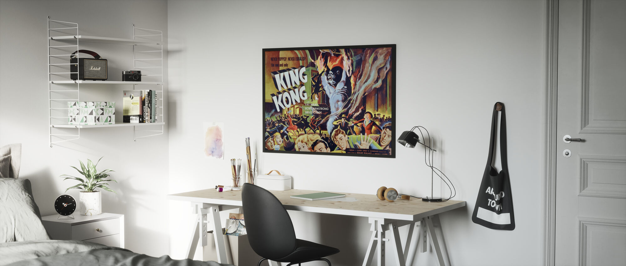 King Kong - Poster - Kids Room