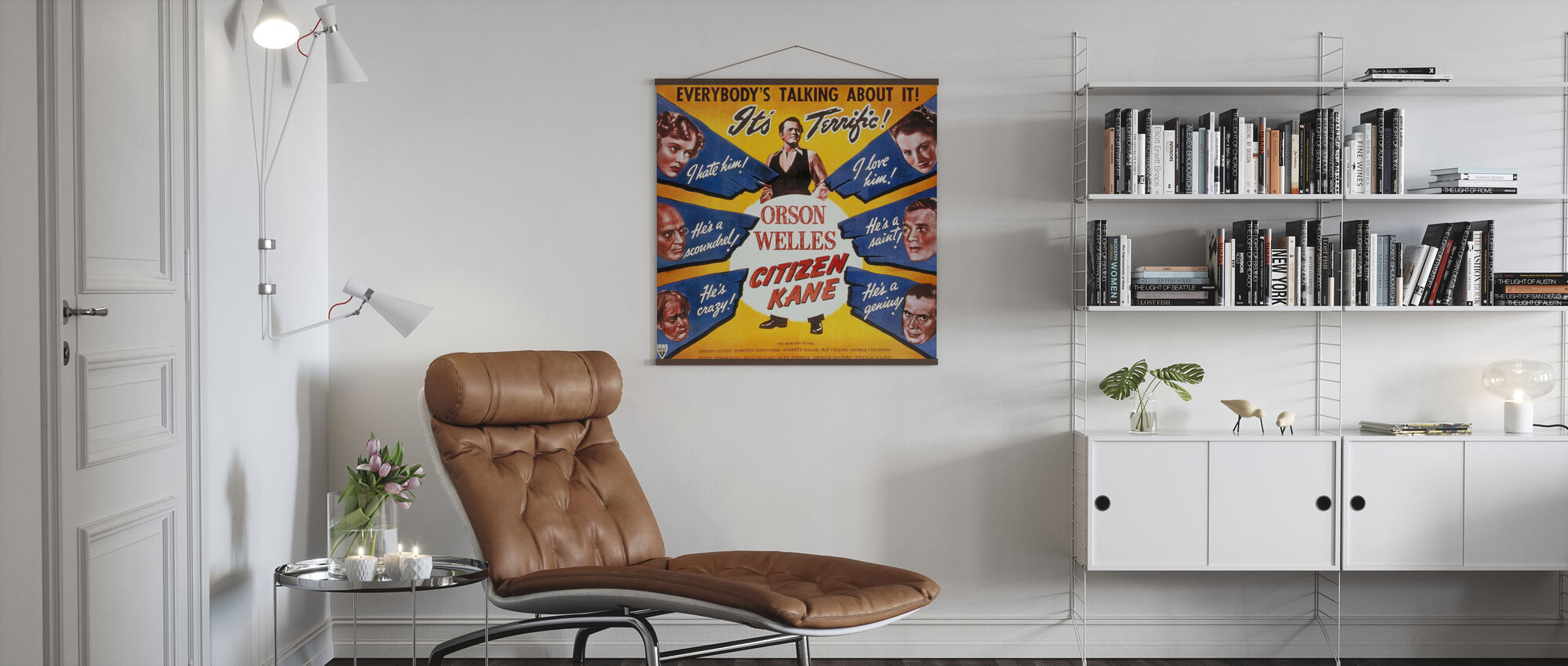 Citizen Kane - Poster - Living Room