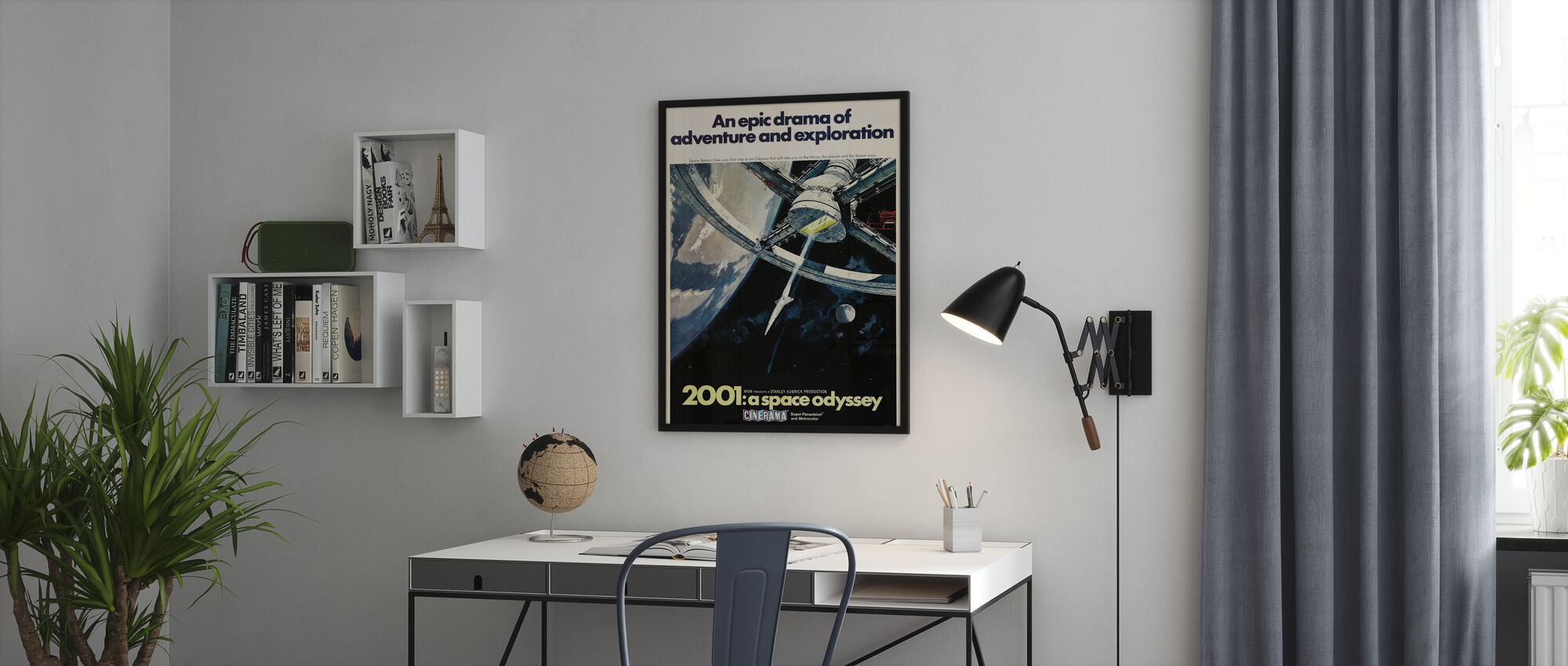 2001 A Space Odyssey - Poster - Office