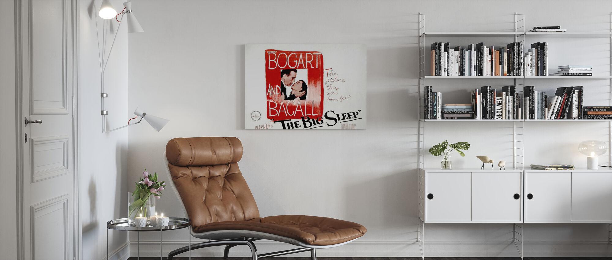 Big Sleep - Canvas print - Living Room