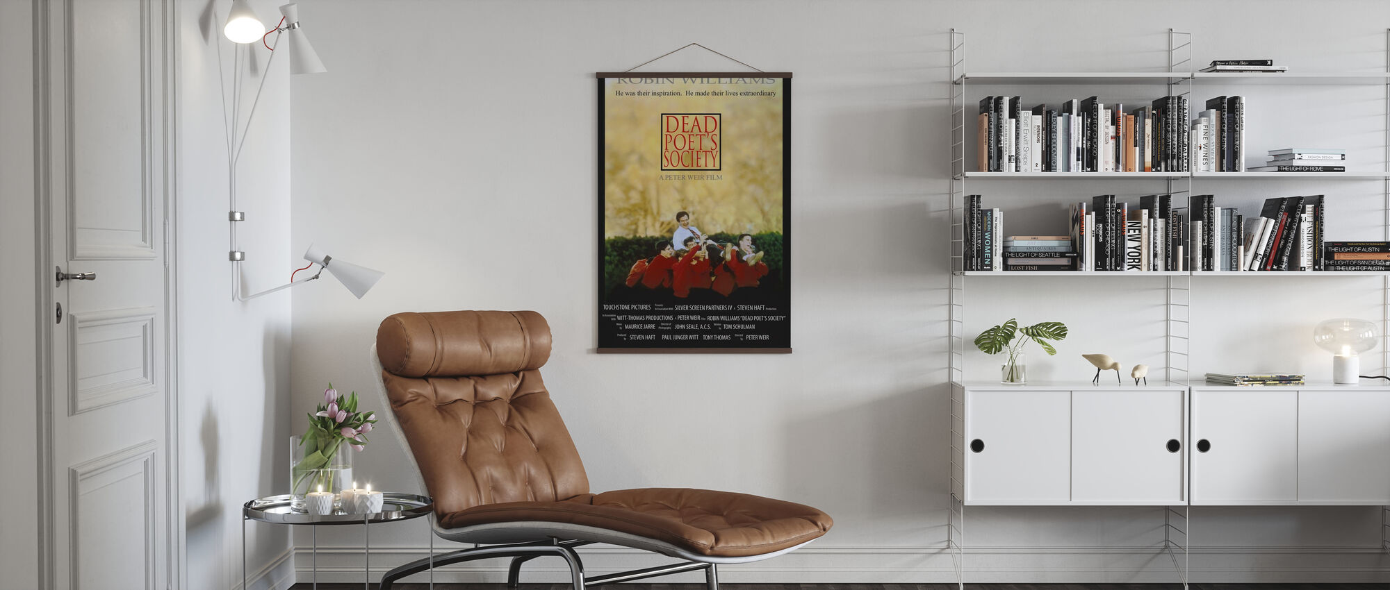 Dode Dichters Society - Poster - Woonkamer